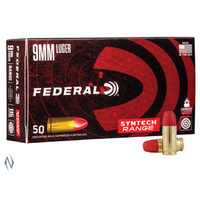 Federal 9MM Luger 124gr TSJ Syntech Jacket