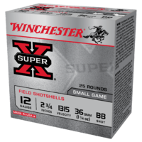"Winchester Super X 12G BB 2-3/4"" 36gm (25PK)"