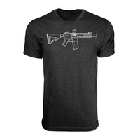 BRCC Hand Drawn SBR Vintage Black
