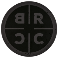 Black Rifle Circle Logo Sticker