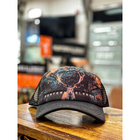Farrant Trucker Cap Metal Black