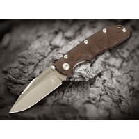 Kizer Bolt Knife Black/Red