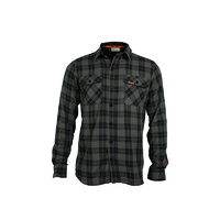 Chequered Shirt Olive