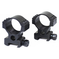 Vector Optics 30mm Tactical Picatinny Scope Rings (High)