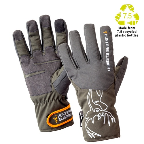Blizzard Gloves Full Finger Grey/Green Size L
